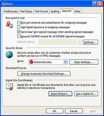 Outlook 2003 Installation - Powered by Kayako Help Desk Software